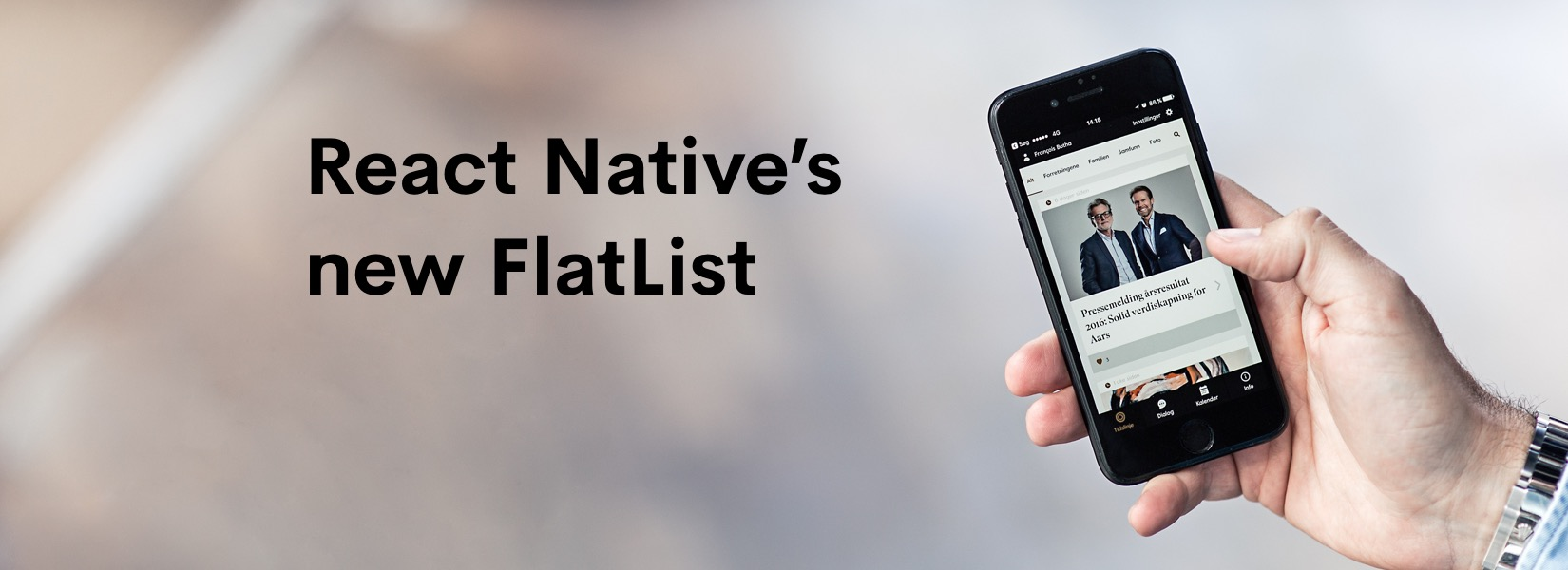What's React Native's new FlatList?