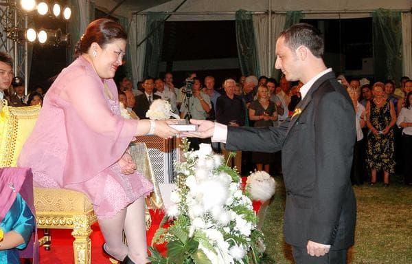 AVC rewarded by HRH Princess Soamsawali