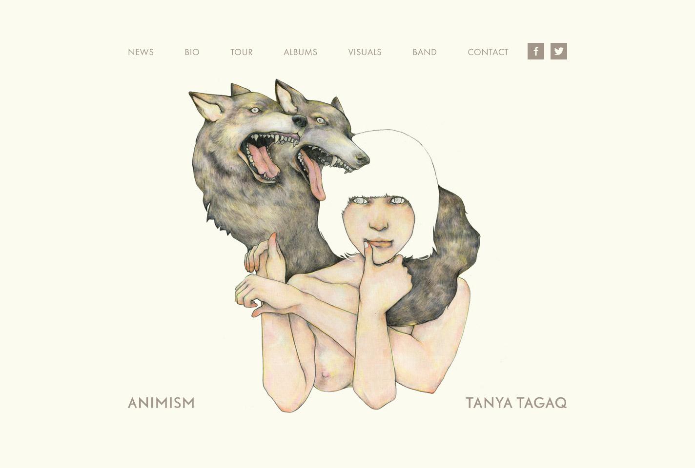 Tanya Tagaq home page