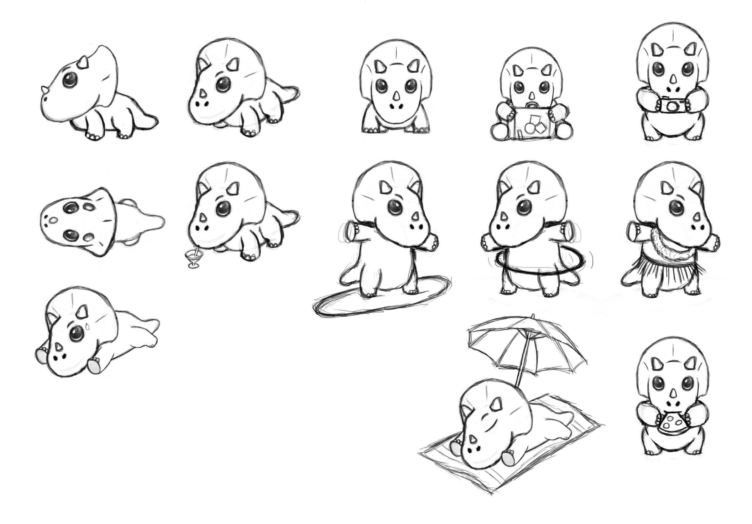 Trekalo Sketches 1