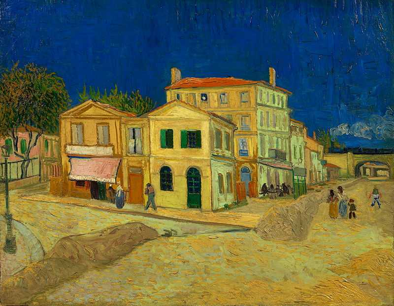 The Yellow House by Vincent Van Gogh, 1888. Van Gogh Museum, Amsterdam
