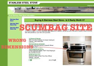 The scum bag site