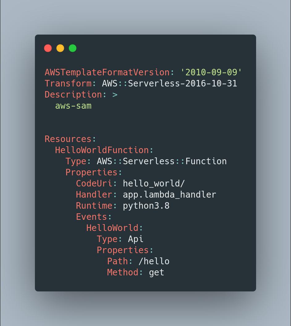 CloudFormation example