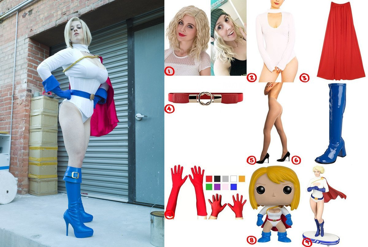 Power Girl Cosplay & Costume Guide