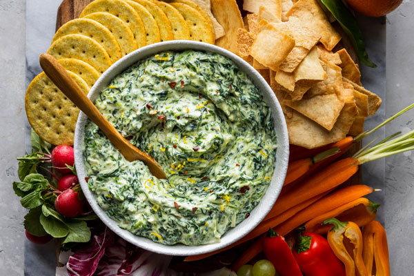 Easy and Delicious Spinach Dip