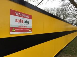 SafeSite Timber Hoarding