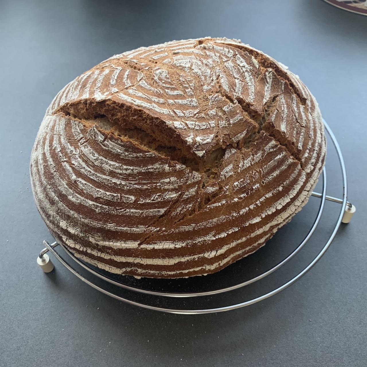 Brot frisch aus dem Ofen!