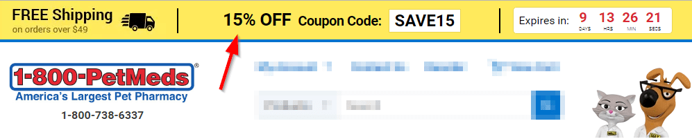 Coupon codes