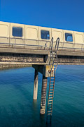 Not sure I'd want to climb that ladder if I had to …  Elizabeth Terminal, Saint Helier, Jersey, United Kingdom