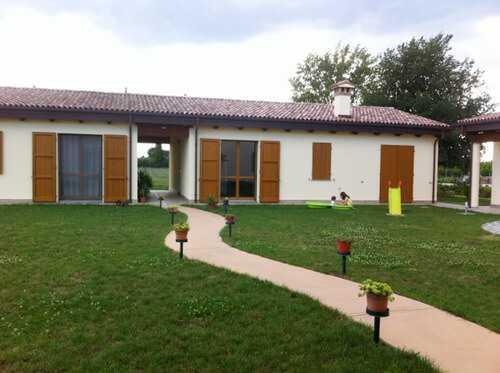 La struttura presso Bagnara di Romagna