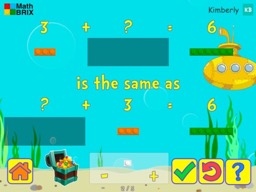 Forward, Backward: Commutative property of addition Math Game