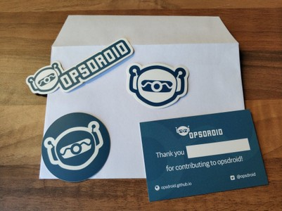 opsdroid swag you can get
