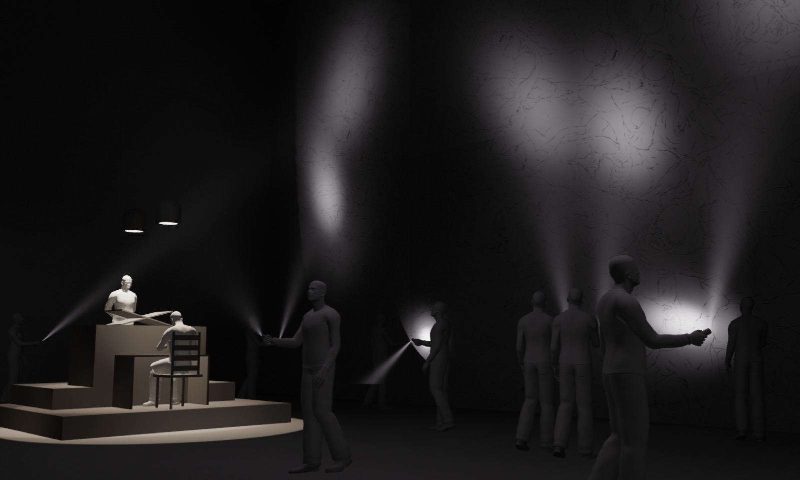 2. Simulated Installation View