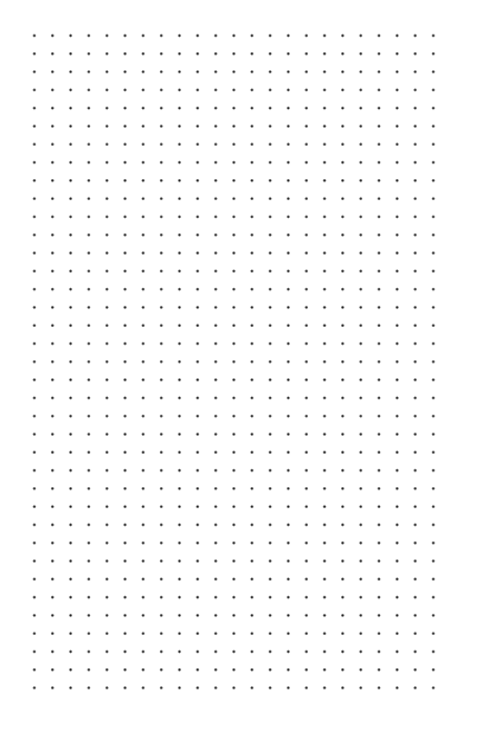 Dotted Grid Template
