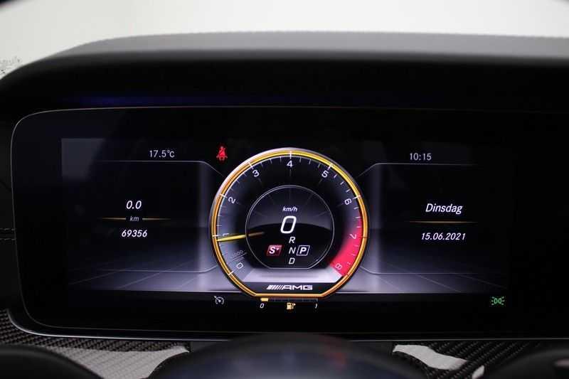 Mercedes-Benz E-Klasse 63 S AMG 4Matic-plus|kuipstoelen|pano|carbon afbeelding 8