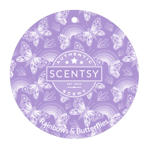 Picture of Rainbows & Butterflies Scent Circle