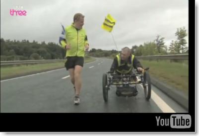 Eddie Izzard Sport Relief UK