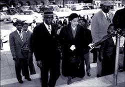 Rosa Parks with E.D. Nixon