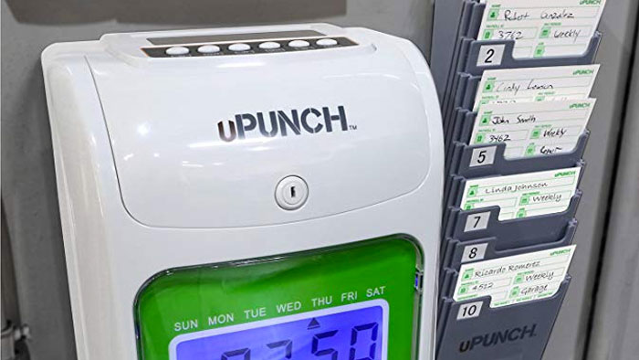 uPunch HN3000 on wall