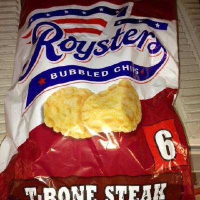 Roysters T-Bone Steak Crisps