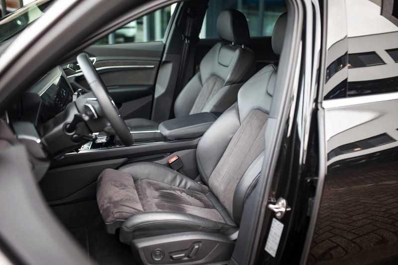 "Audi e-tron 55 Quattro *4% Bijtelling / Hulppakket Stad & Tour / 22"" / Topview* afbeelding 8"