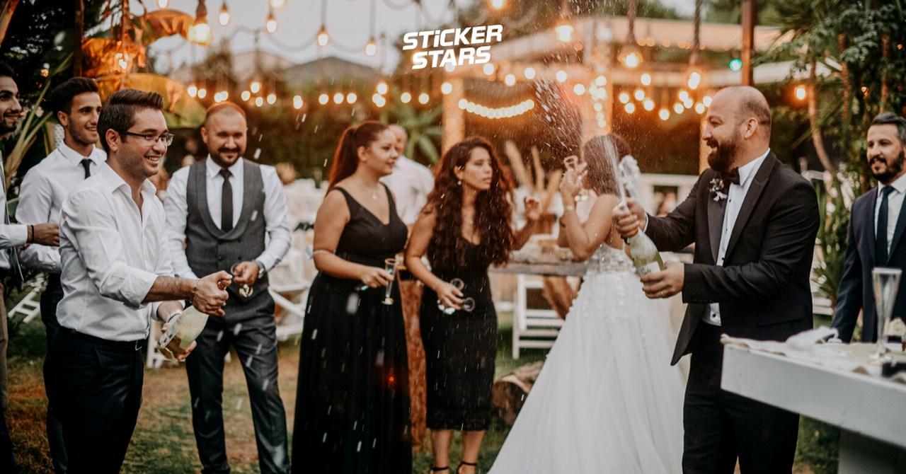 Hochzeitstombola: Große Unterhaltung für jede Feier