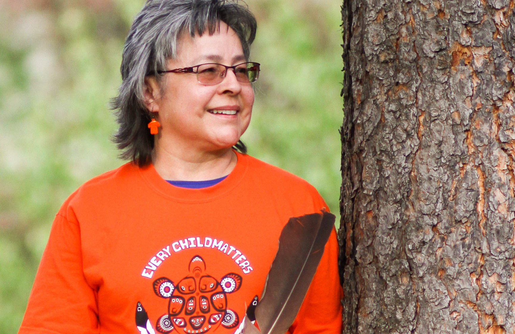 Phyllis Webstad, founder of Orange Shirt Day.
