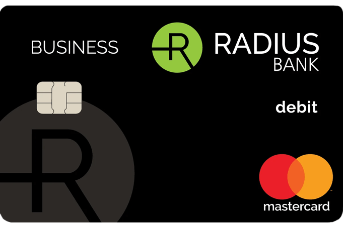 A Radius Bank Business Mastercard