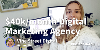 featured image thumbnail for post How I Started A $40k/month Digital Marketing Agency Because I love PPC but hated Traditional Agency Life