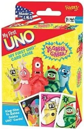 Yo Gabba Gabba My First Uno
