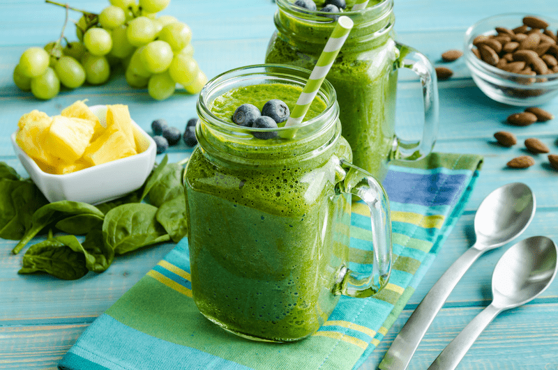 DIY Recipe: Our Stress Busting CBD-Infused Green Smoothie