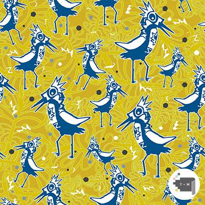 Into the Wild Wildbird Yellow