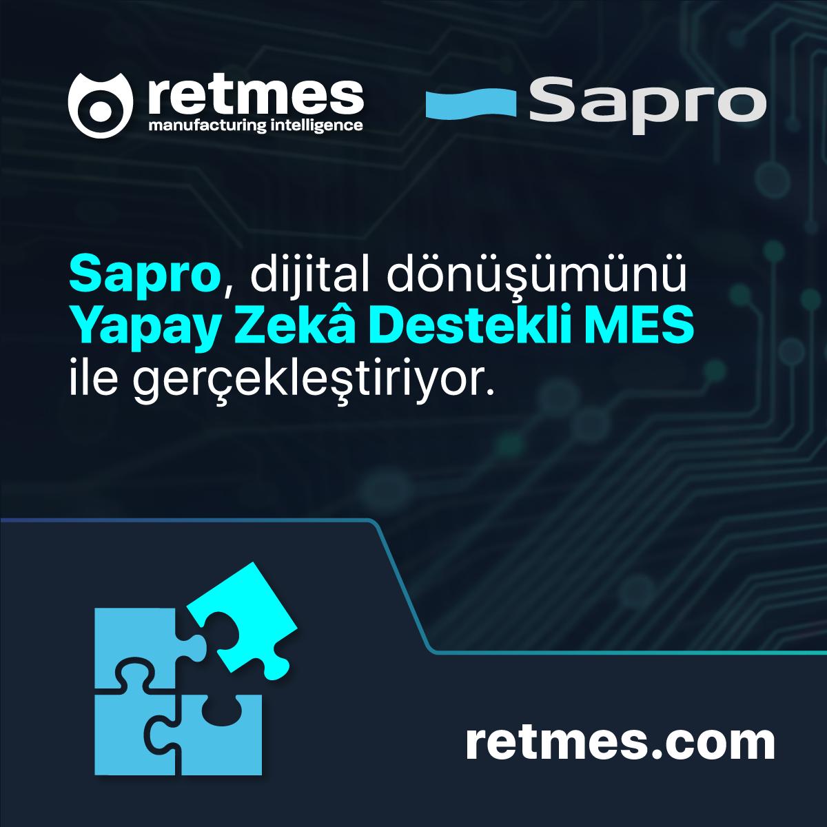 Sapro ve Retmes Dijital Dönüşüm