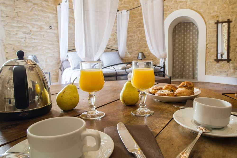 chambres d'hôtes petit déjeuner