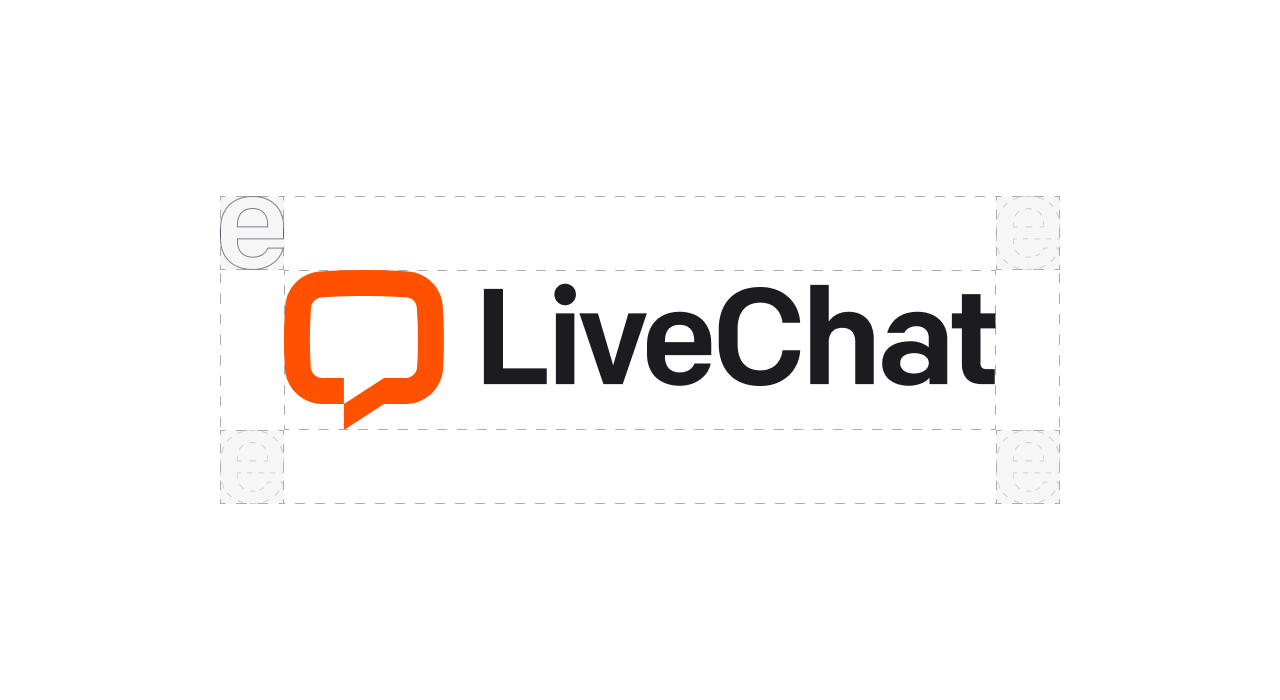 LiveChat logo clear space