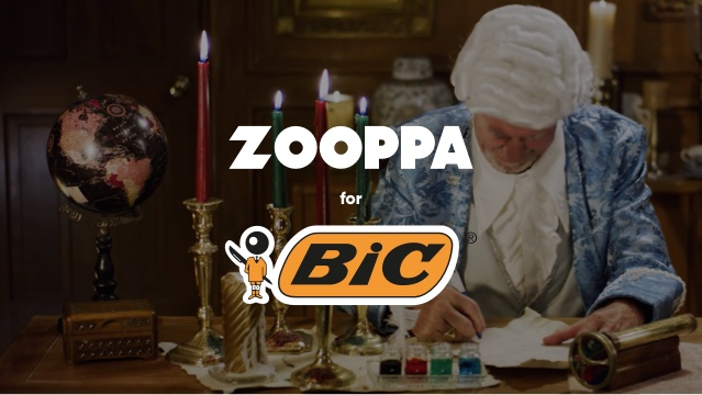 Zooppa for BIC