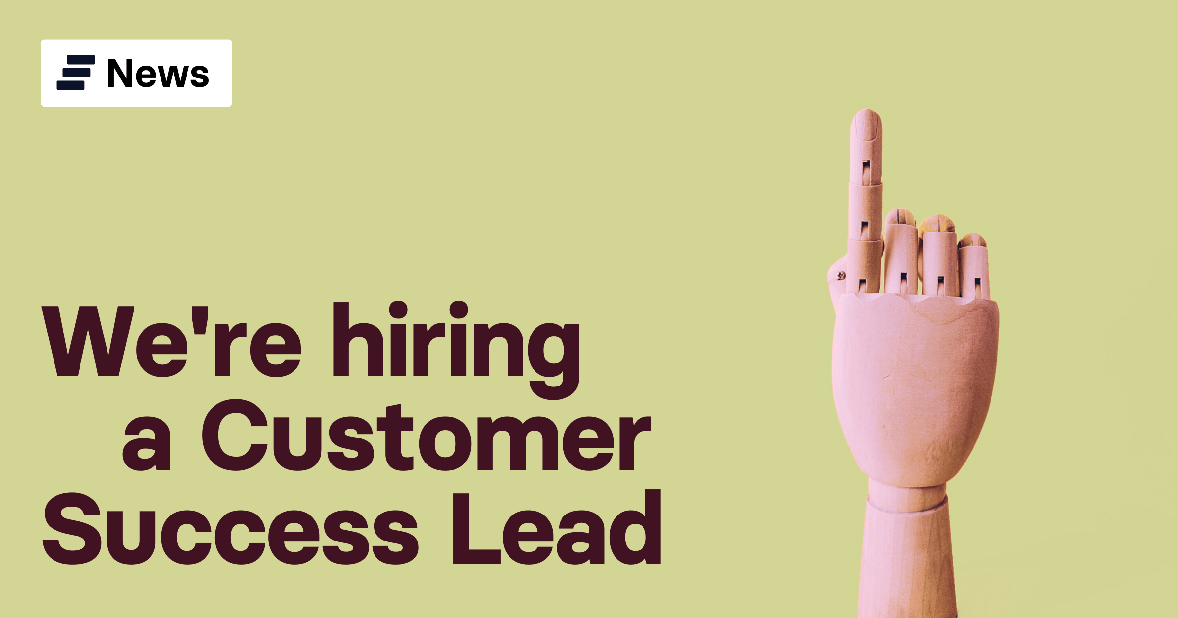 Customer Success Lead