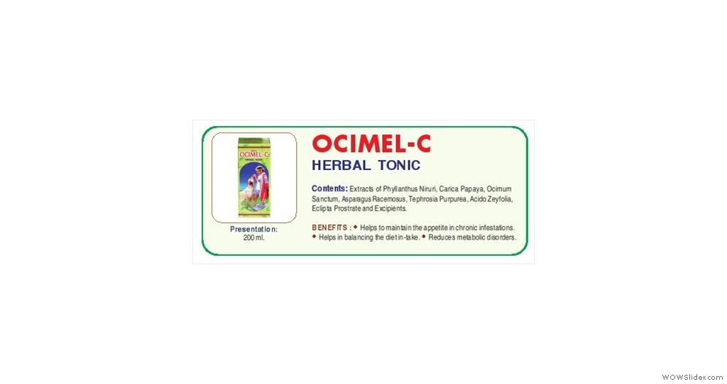 Cannine-Herbal tonic