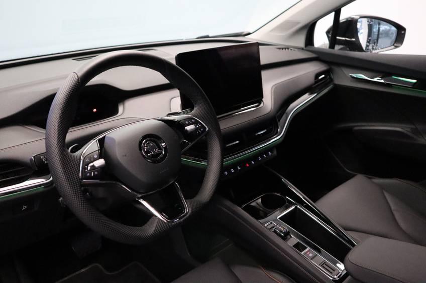Škoda ENYAQ iV 80 First Edition Full-led Elec.Trekhaak 21'inch lmv Direct Leverbaar!! afbeelding 8