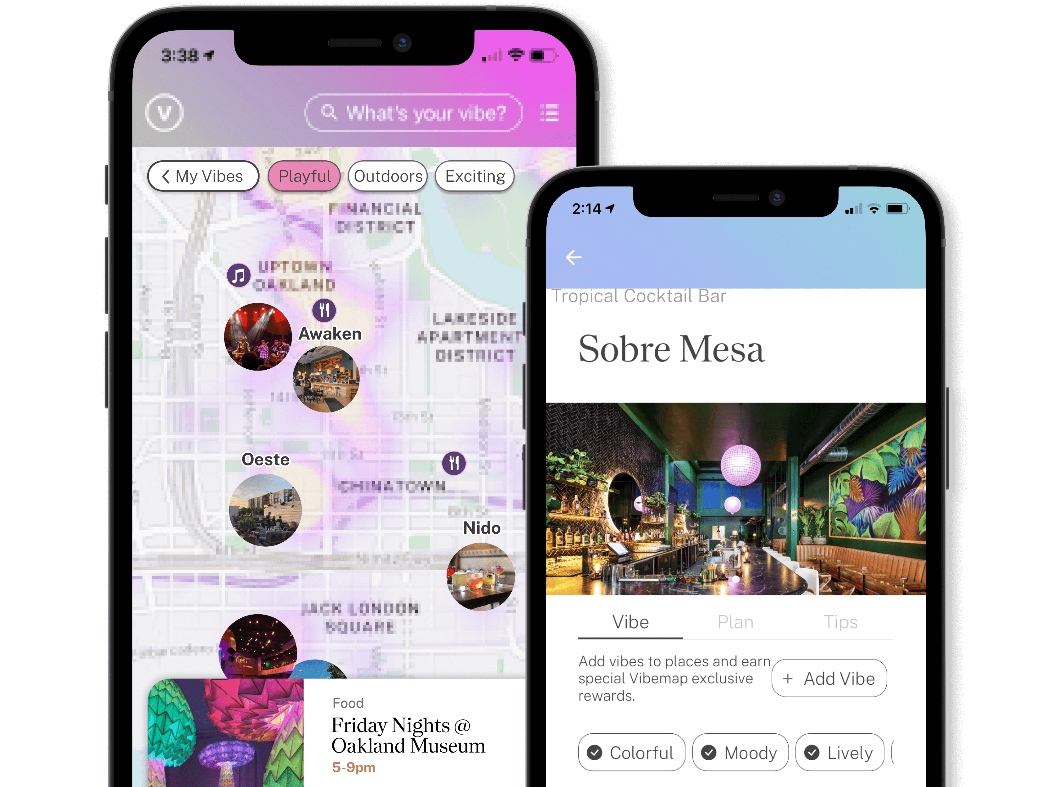Check out Vibemap on the app store.
