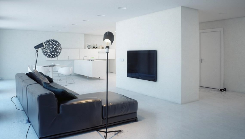 Our apartment never looked like this. Source:home-designing.com