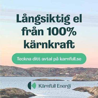 Långsiktig el från 100% kärnkraft