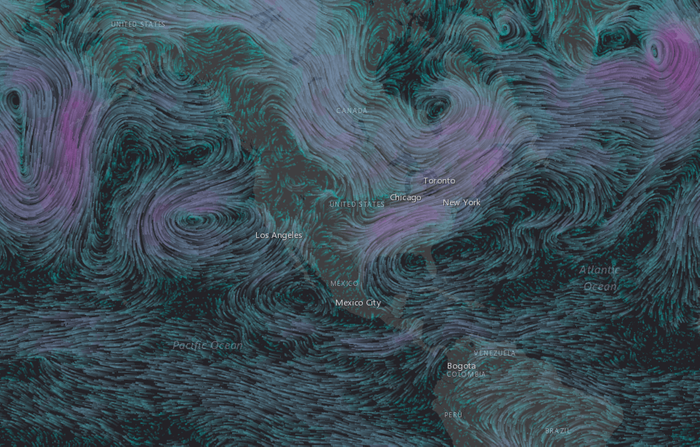 Esri Wind Animation
