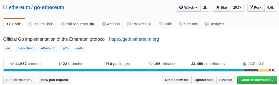 go-ethereum repository