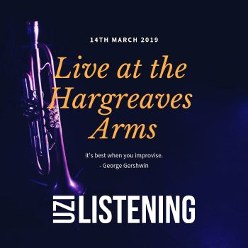 Hargreaves Arms Gig Poster