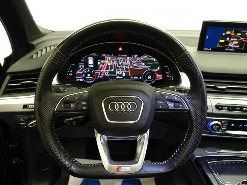 Audi Q7 3.0 TDI e-tron 374pk Quattro Sport S-line- Pano, Bose, Virtual Cockpit, Leer,  Full! afbeelding 8