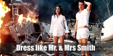 Dress Like Mr. and Mrs. Smith Costume