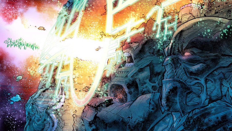 A Muralha da Fonte da DC Comics Jack Kirby