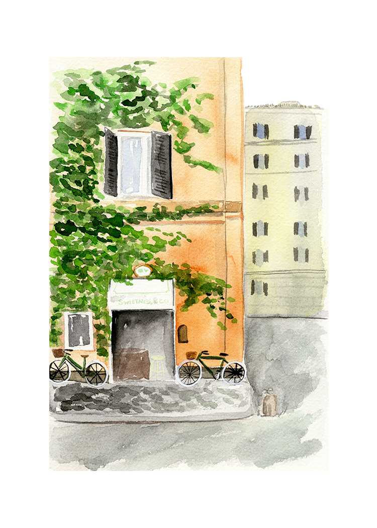 Rome illustration by One and Only Paper