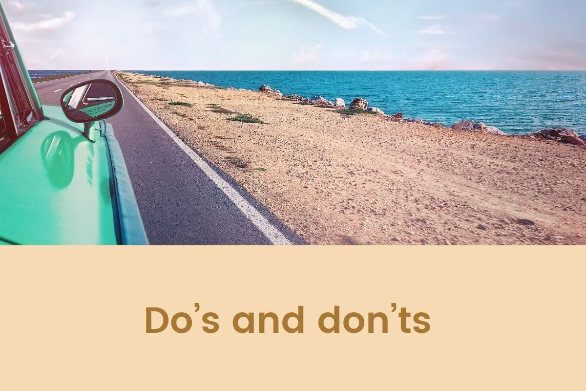 Do's and don'ts for a successful summer road trip- Featured Shot